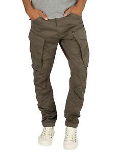 G-Star Men's Rovic Zip 3D Straight Tapered Cargos, Grey