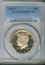 1983-S 50C DC (Proof) Kennedy Half Dollar PCGS PR69 DCAM 96824.69/83280941