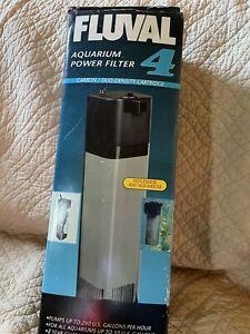 Fluval 4 Power Filter For Aquariums in Original Box