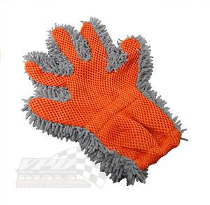 Hand Wash Glove Cleaning Microfiber Mitt Wipe Polish Scrub Kitchen Towel Cloth