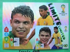 FIFA World Cup Brasil  2014 XXL Limited edition Silva WM  Panini Adrenalyn