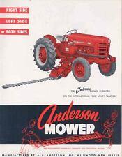 1956 International 300 Tractor Anderson Loader Brochure wl2859-SLZQP3
