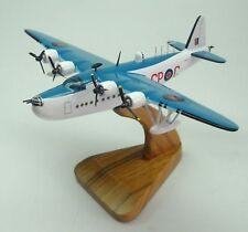 Short Sunderland Flying Boat Airplane Desktop Wood Model Big New