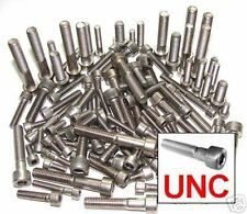 Stainless UNC Allen Bolts, 1/4,5/16,3/8, Harley, Buell