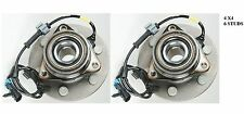 FRONT Wheel Hub Bearing Assembly Fit GMC Sierra 1500 (4WD 4X4) 1999-2006 PAIR