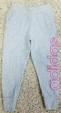 Adidas Girls Lightweight Pants, gray, size 6