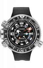 BRAND NEW CITIZEN ECO-DRIVE PROMASTER AQUALAND DEPTH METER BLACK BN2029-01E NIB