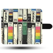 VHS Cassette Tapes Collection Vintage Retro Synthetic Fabric Phone Case Cover
