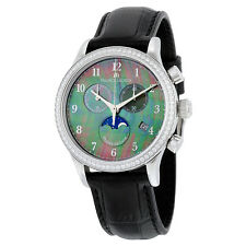 Maurice Lacroix Les Classiques Mother Of Pearl Dial Black Leather Stainless