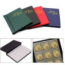 120 Coins Collection Holders Storage Money Penny Pocket Album Book Folder