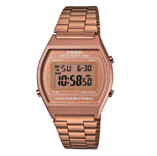 Casio Classic B640WC-5ADF Retro Bronze Rose Gold Watch