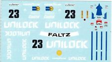 1/24 1977 BMW 320i #23 Mosport Villenuve & Cheever decal set Museum Collection