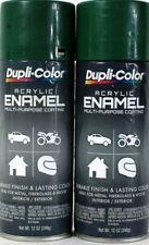2 Dupli-Color 12oz Acrylic Enamel DA1630 Leaf Green Multi Purpose Coating Spray