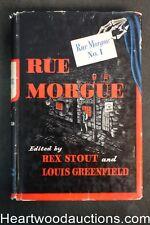 Rue Morgue No. 1 by Rex  Stout, Ray Bradbury, Seabury Quinn, H. Bedford-Jones