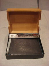 J. FOLD FADER SLIMFOLD LEATHER WALLET BLACK N07373/79 - BRAND NEW - NWT