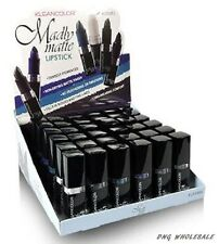 6pc Full Set Kleancolor Madly Matte Lipstick Vivid Bold White Black Blue Purple