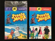 Lot 2 E.T. the Extra-Terrestrial 1982 Presto Magix Halloween & The Escape