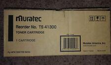 Muratec TS 41300 Black Toner Cartridge New OEM MFX 1300 1700