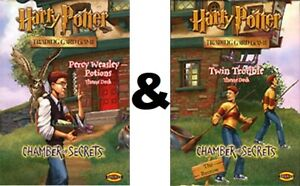 Harry Potter TCG CHAMBER OF SECRETS BOTH Theme Decks SEALED!