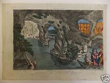 Vue d'optique Enée Enfers 18ème siècle
