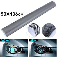 106cm x 50cm Tinting Perforated Mesh Film Like Fly Eye Tint For Headlight Light