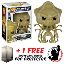 Funko Pop Independence Day Alien Vinyl Figure With Free Pop Protector