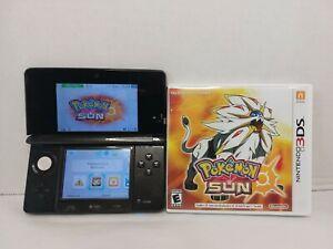 Nintendo 3DS Console -  Black Pokémon Sun Charger