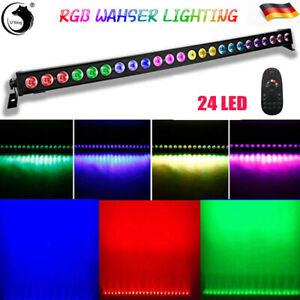 RGB LED 24*3W Bühnenlicht Wall Washer Licht Bar DMX Bühnenbeleuchtung DJ Party