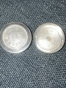 SAKURAI Vintage Sterling Silver 950 Japanese Pill Box