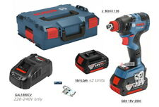 Bosch GDX 18V-200C 2-in-1 EC Brushless 147mm 200Nm 3,400rpm L-Boxx 2x6.0Ah UPS
