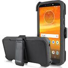 For Motorola Moto G7 Power /Supra  Case Belt Clip Fits Otterbox+Screen Protector