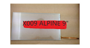 """ALPINE Navigation 9"""" REPLACEMENT Digitizer TOUCH-SCREEN GLASS FOR MONITOR LCD"""