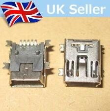 Mini USB Type B Female 5-Pin SMT SMD Socket Jack Connector Port - Fast Dispatch