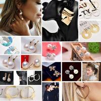 Fashion Women Girls Earrings Cute Geometric Ear Stud Drop/Dangle Jewelry Gifts