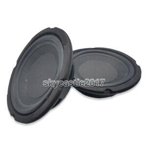 2pcs 5'' inch Speaker Passive Radiator Woofer Diaphragm Radiator Auxiliary Bass