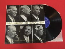 MAURICE CHEVALIER 530.003 GRAND PRIX DISQUE 1962 CHARLES CROS VG+ VINYLE 33T LP