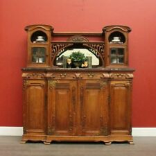 Oak Sideboards Antique Cabinets & Cupboards
