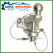 DUAL TOW HITCH EXTENDED BALL 3500 kg 50MM BALL & 25MM PIN