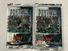 qty 2 - Netrunner Proteus Limited Edition Factory Sealed Booster Packs
