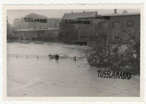 Chemnitz Hochwasser Alarm in Sachsen alte Häuser   1954 siehe Foto TOP
