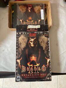 Diablo II Expansion Set Lord of Destruction PC CD w/ Manual
