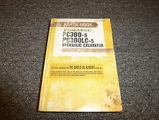 Komatsu Pc300-5 Pc300Lc-5 Hydraulic Excavator Parts Catalog Manual S/N 20001-Up