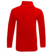 Magliette, maglie e camicie rosso per bambine dai 2 ai 16 anni, taglia 2 anni