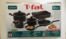 T-Fal Admire 9 Piece Non-Stick Cooking Set