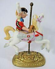 1991 Disney New England Collectors Society Carousel Pinocchio Figurine