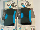 X2 Speck Loot Lock Cell Phone Stick On Wallet - Black - NEW X2