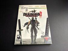 Ninja Gaiden II 2 w Slipcover Microsoft Xbox 360 LN PERFECT condition COMPLETE