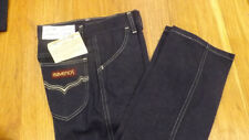 VTG Maverick Blue Bell Fashion Denim Blue Jeans 12 Slim NOS USA Made 24 x 27 #3