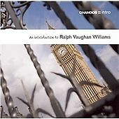 An Introduction to Ralph Vaughan Williams, Vaughan Williams, R., Very Good CD