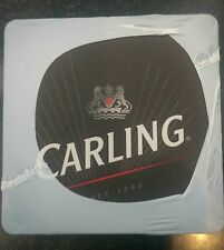 CARLING LAGER BEER MATS / COASTERS (x100) - NEW / SEALED PACK